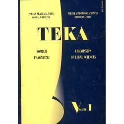 TEKA Komisji Prawniczej PAN Oddział w Lublinie, tom I