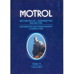 MOTROL Motoryzacja i Energetyka Rolnictwa, tom 11