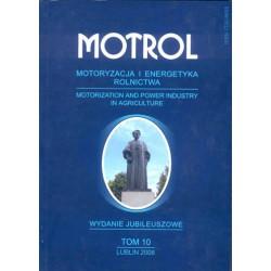 MOTROL Motoryzacja i Energetyka Rolnictwa, tom 10