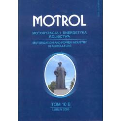 MOTROL Motoryzacja i Energetyka Rolnictwa, tom 10 B