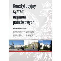 """Ewa Gdulewicz red., """"Konstytucyjny system organów państwowych"""""""