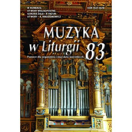 Muzyka w Liturgii 83 - 2/2017
