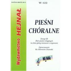 Ks. Hieronim Chamski, oprac., Pieśni chóralne. Zeszyt 26. Zbiór pieśni religijnych na dwa głosy mieszane z organami