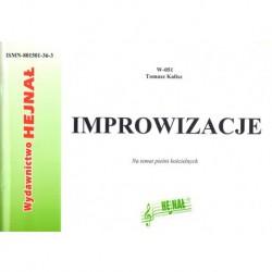 Tomasz Kalisz, Improwizacje na temat pieśni kościelnych