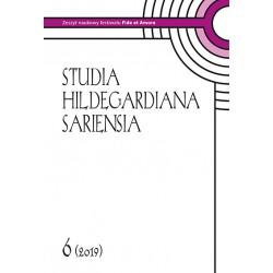red. nacz. ks. dr Wiesław Hudek, Studia Hildegardiana Sariensia. Zeszyt nutowy festiwalu Fide et Amore Nr 6 (2019)