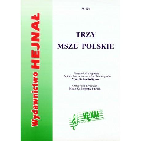 """Wydawnictwo Hejnał, """"Trzy msze polskie"""""""