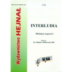 "Ks. Zbigniew Malinowski, ""Interludia. Miniatury organowe"""
