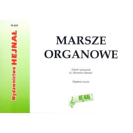 """Ks. Hieronim Chamski zebrał i oprac., """"Marsze organowe"""", wyd III"""