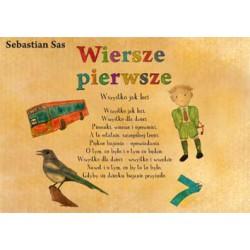 """Sebastian Sas, """"Wiersze pierwsze"""""""