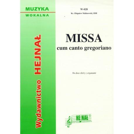 """Ks. Zbigniew Malinowski, """"Missa cum canto gregoriano"""""""
