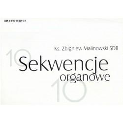 """Ks. Zbigniew Malinowski, """"Sekwencje organowe"""""""