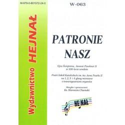 """Ks. Hieronim Chamski, """"Patronie nasz"""". Ojcu Świętemu, Janowi Pawłowi II w 100-lecie urodzin"""