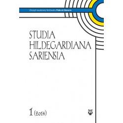 """red. naczelny ks. dr Wiesław Hudek, """"Studia Hildegardiana Sariensia. Zeszyt naukowy festiwalu Fide et Amore Nr 1 (2014)"""""""